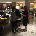 US Weekly alert: AGs, they are just like us. Loretta Lynch gets lunch in #doj cafeteria on first day. http://t.co/DK3yJSbGnz