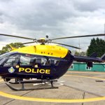 Thanks to our colleagues @NPAS_Exeter for lending #London its ride...well be gentle with her! http://t.co/Sw4IfC19L0