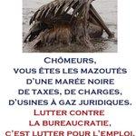 #chômage Chômeurs, vous êtes les mazoutés dune marée noire détatisme. http://t.co/MZdWwcdPAI