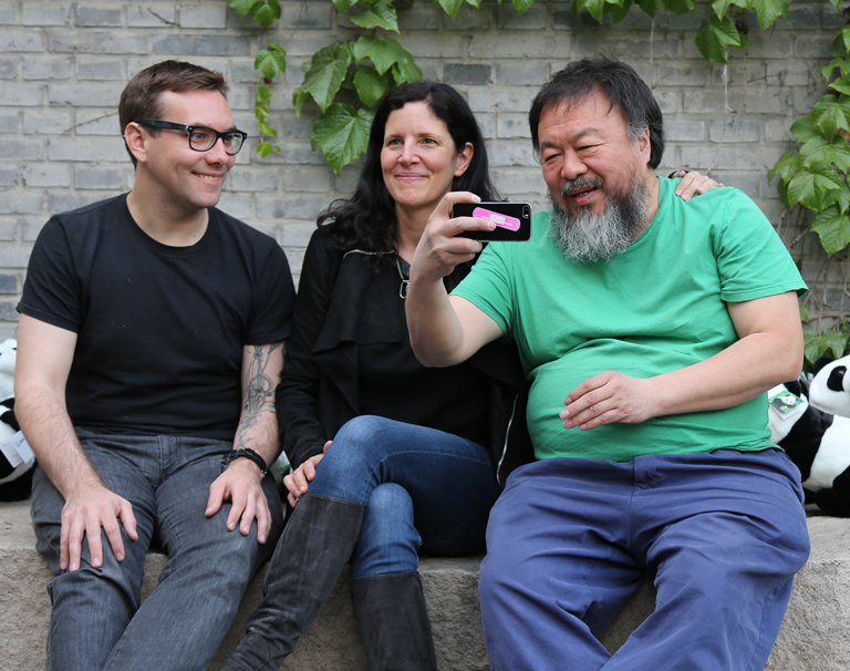 For #7ON7NYC: Jacob Appelbaum (@ioerror) & Ai Weiwei (@aiww), thru the lens of Laura Poitras.  http://t.co/38p0FqRZuj http://t.co/6t7yA8rBE5