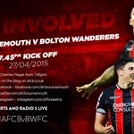 COVERAGE: Keep up to date with all the action from #AFCBvBWFC on http://t.co/DOYLcSPJLp: http://t.co/xN4g9BoPUw #afcb http://t.co/TF3pdF8I6s