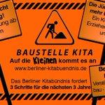 Wir starten morgen unsere Kampagne #3SchrittefürbessereKitas. http://t.co/JcuuyyA64K #meinErsterTweet #kita #Berlin http://t.co/5iaB1FZpuc
