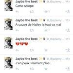visez ses tweets elle est amoureuse de justin wsh mdr jen est marre des gens ici wllh elle pleure et tt http://t.co/TvztfXBsuP