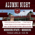 Alumni Night at Hammons Field- #MSUBears vs. Mizzou just one day away! Dont delay, get your tickets today... http://t.co/oE3VSiIJ2C