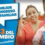 Porque lo más importante es tu bienestar y la de tu familia, mejoremos la economía familiar #Las3DelPAN http://t.co/IvRcGIK60Y