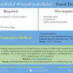 .@InCrisisRelief is helping the Nepal Embassy, Delhi @EONIndia with #NepalQuakeRelief. The What, Where & How here. http://t.co/mHqaf2s0nm