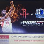2 win 2 tix for the rockets playoff game 2morrow just RT b4 8pm. Winner at random. Must be following to win. GL http://t.co/LGbF6nbHTb