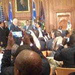 VP Biden swore in Loretta Lynch as the 83rd attorney general this morning http://t.co/fBX7DnihLA