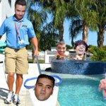 """E nessa piscina não poderia faltar a """"sujeira"""" Hahaha. #LIAMISTHEPOOLCLEANER http://t.co/WEot3wpQf2"""