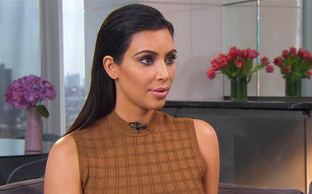 Kim Kardashian says 'we all really support him' following Bruce Jenner's interview on Friday: