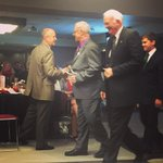 @ClifSmart shaking hands with @DeanJungers after he got his student commitment award #StarAwards15 #studentsucess http://t.co/ZO7j3AdxGG