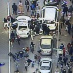 #BREAKING: Group of juveniles destroying @BaltimorePolice car live now on #WJZ. #FreddieGray @cbsbaltimore #Baltimore http://t.co/X79EDpSR9Q