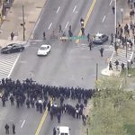Police clash with protesters in Baltimore after #FreddieGray funeral http://t.co/gcBTmSUevn http://t.co/uciDxn1fDc