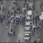 WATCH LIVE: Protesters escalate in #Baltimore. Several fires reportedly set. http://t.co/NH9YoF1kSJ http://t.co/DSxbBL2u2f
