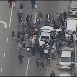 One officer unconscious, others with broken bones as #Baltimore protests continue. http://t.co/S1dXtwQppa http://t.co/v57pl25T6O