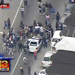 JUST IN: Seven officers injured as violent clashes erupt in Baltimore http://t.co/5SitdpTk3t #FreddieGray http://t.co/XTkjI01CMQ