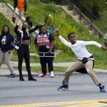 The latest: Protesters, police clash in Baltimore; at least 7 officers injured http://t.co/IfAIuJyRRH http://t.co/ct9OHuyV8O