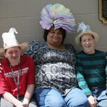 Its #Derby Week & weve got lots of fun planned. Today: #hat making! Look at Stephen, Cheryl, & Ronnie - #styling! http://t.co/EmKHlHQDPs