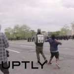 LIVE UPDATES: Baltimore Sun says riot began after flier called for Purge #FreddieGray http://t.co/KrKMiHcK7e http://t.co/9GrSB1UnUs