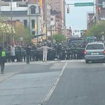 Some DMV officers now being sent to #Baltimore RT @jemillerwbal Eutaw and Saratoga http://t.co/Lh8GycU3jF