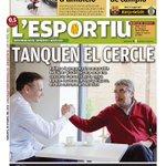 """Portada @lesportiucat edició Girona """"Tanquen el cercle"""" @unigirona http://t.co/1wbLaleP9g"""