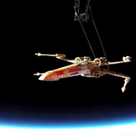 Watch this X-Wing make it to space in Star Wars premiere ticket bid http://t.co/7IFrtwbfFa