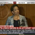 """Attorney General Loretta Lynch: """"We can restore trust and faith"""" in justice system http://t.co/zwwpsklAk8 http://t.co/kfj3wtr4ur"""