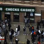 #BREAKING: Looting in Baltimore as group clashes with police. WATCH LIVE: http://t.co/dZHfdyPscQ #BaltimoreRiots http://t.co/6hYDq6PpIk