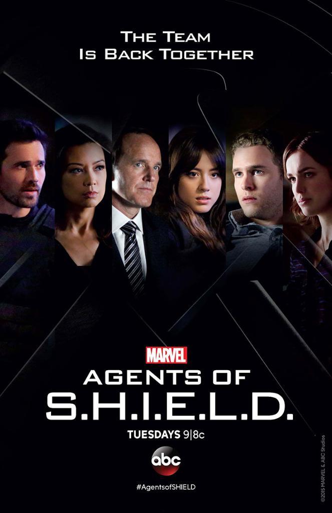 Agents S.H.I.E.L.D. - Magazine cover