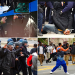"""Officers in riot gear respond to violence in Baltimore: """"We dont want to see anyone get hurt"""" http://t.co/Xd2VizF16u http://t.co/zMijTF6nfc"""