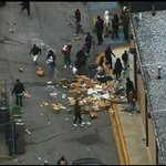 Clashes with police in Baltimore; looting at stores and cars set on fire http://t.co/dZHfdyPscQ #BaltimoreRiots http://t.co/7h8BEEOLfI