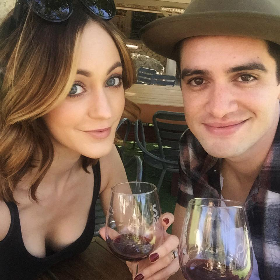 Thanks for all the love! Me & this stud are enjoying and celebrating our 2 years today with a little wine tasting!