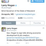 No word yet from @LarryHogan on #Baltimore riots. Will he learn from Jay Nixons Ferguson mistakes? http://t.co/X6DicynwUp