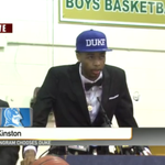 Duke picks up the #1 SF in the class of 2015! Duke has the #1 recruiting class for the 2nd year in a row! #DukeNation http://t.co/u5kBYJ52WS