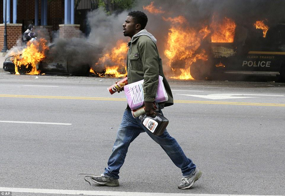 Toilet paper, napkins, and tampons for justice at the #BaltimoreRiots  http://t.co/X0yUAKwnxR