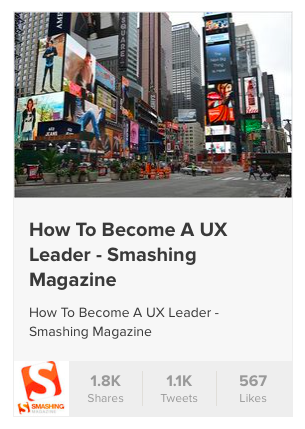 My @smashingmag article, it appears, has been quite a hit. Thank you all so much. This is amazing. http://t.co/7vZYr2lZDo