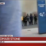 """.@shomaristone reports police now deploying pepper spray, rioters chanting """"hands up dont shoot"""" #Baltimore http://t.co/AfV8B0M9eG"""