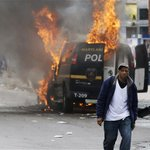 PHOTOS: Riots in #Baltimore #FreddieGray http://t.co/D7KAwtwhrw http://t.co/L8gfHxDMBT