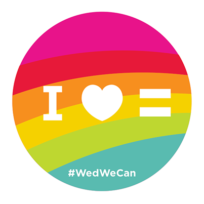Show your support for all couples by sharing this symbol with your friends using #wedwecan! http://t.co/6OXdD7lBFF http://t.co/xe6NgLarRU