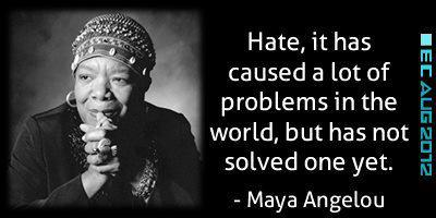 A lesson for those taking part in the Baltimore riots from Maya Angelou  #BaltimoreRiots http://t.co/ymjSeTFOnY