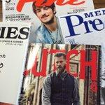 おじさんは楽屋にあった雑誌がオシャレ過ぎて戸惑うぞ。。。 http://t.co/MKz1bKSkHB