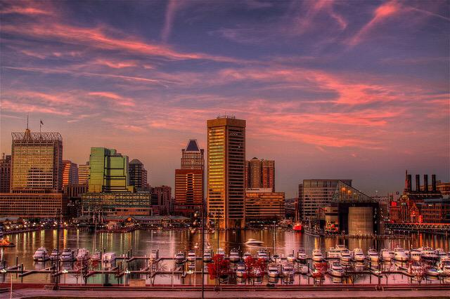 You're beautiful, Baltimore. Be safe tonight. #BaltimoreRiots http://t.co/AVOy59Hx4M