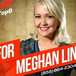 """RT if """"Something"""" is telling you to vote for QUEEN @meghanlinsey tonight! #VoiceTop8 http://t.co/Nvo5ylkjj5"""