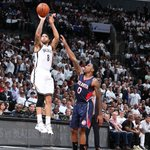 The @BrooklynNets win 120-115 in OT and the series is TIED at 2 games a piece! Deron Williams goes OFF for 35 pts. http://t.co/bv9cgcYvTO