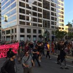 California #FreddieGray solidarity march in  #Oakland #April27  http://t.co/WG32rRQkPe""