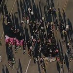 RT @abc7newsBayArea: WATCH LIVE: Oakland protesters are marching over I-880 overpass in solidarity with #Baltimore http://t.co/EhEX7B6EMc
