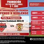 Todos a apoyar a Ñublense en el partido clave ante Cobreloa. ¡Vamos Rojo! http://t.co/2LYo4QpjCo