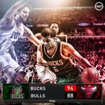 The young @Bucks continue to fight. 22-9-8 from @MCW1 leads the way in a Game 5 road win. #NBAPlayoffs http://t.co/6XF4XM6fus