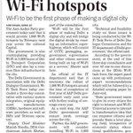 Delhi to get 1000 wifi spots by February 2016! The dream of free wifi in delhi wil b a reality soon. Wonderful. Thx. http://t.co/IhpEzPLYcC
