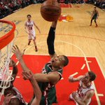 With their Game 5 victory, Bucks snap Bulls 9-game win streak at home that dates back to regular season. http://t.co/4XpVDp5x7V